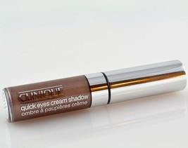Clinique Quick Eyes Cream Shadow in Truffle - NIB - $39.95