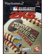 PlayStation 2 - Major League Baseball 2K5 World... - $8.95