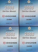 2008 DODGE CALIBER Service Shop Repair Workshop Manual Set NEW 2008 MOPA... - $287.05