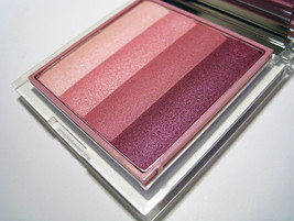 Clinique Shimmering Stripes Powder Blusher in Tuxedo Plums - Full Size - Limited - $34.95