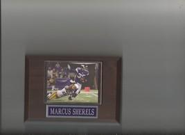 MARCUS SHERELS PLAQUE MINNESOTA VIKINGS FOOTBALL NFL - $2.56