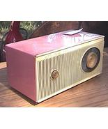 Admiral Pink AM Radio Circa 1955 - $34.58