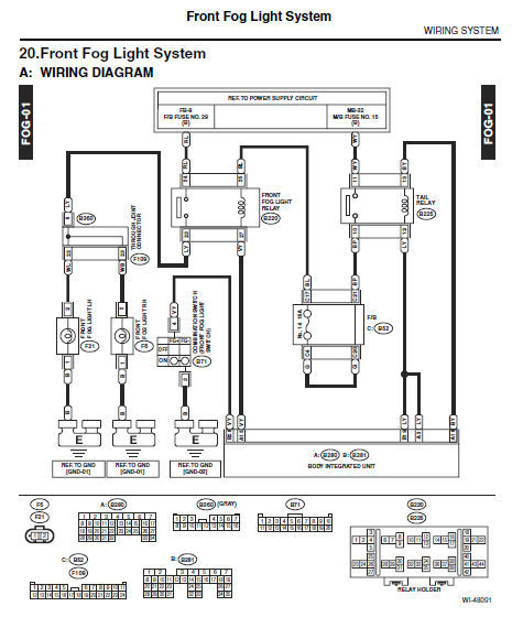 Subaru 2015 Xv Crosstrek Gp Service Repair Wokshop Fsm Manual   Wiring Diagram