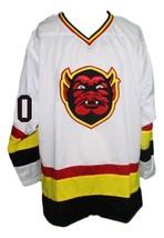 Custom Name # St Paul Vulcans Retro Hockey Jersey New White Any Size image 4