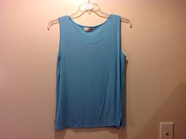 Great Condition Draper's & Damon's Sky Blue Tank Top Stretchy Scoop Neck