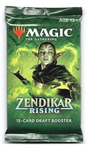 Magic The Gathering MTG 1x Zendikar Rising Draft Booster Pack 2020 - $5.95