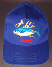 Vtg AHI Hawaii Hat-Blue-Snapback-Fish-Island-Vacation-Dorfman Pacific-Tr... - $24.30