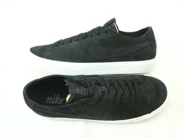 Nike Mens SB Zoom Blazer Low Decon Leather Black Anthracite Shoes Size 1... - $69.29