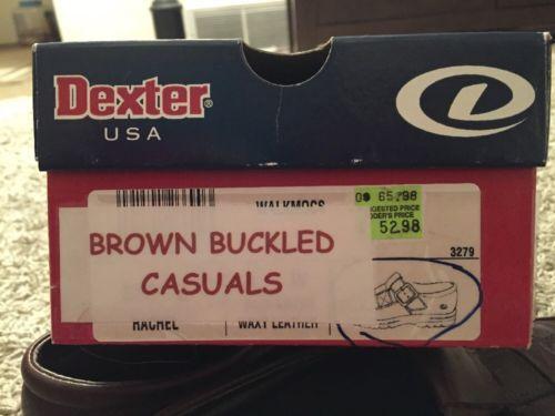 Mens Dexter USA Walkmocs Shoes, Size 9W, In Original Box