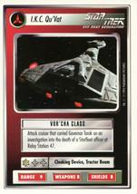 Star Trek CCG - I.K.C. Qu'Vat - $0.75