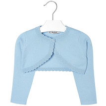 Mayoral Girls Basic Knitted Cardigan Sweater Shrug