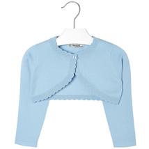 Mayoral Girls Basic Knitted Cardigan Sweater Shrug