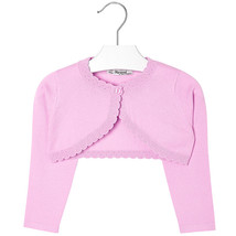 Mayoral Girls Basic Knitted Cardigan Shrug Sweater