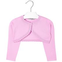 Mayoral Girls Basic Knitted Cardigan Shrug Sweater