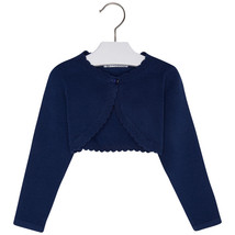Mayoral Girls Basic Knitted Bolero Cardigan Sweater/Shrug