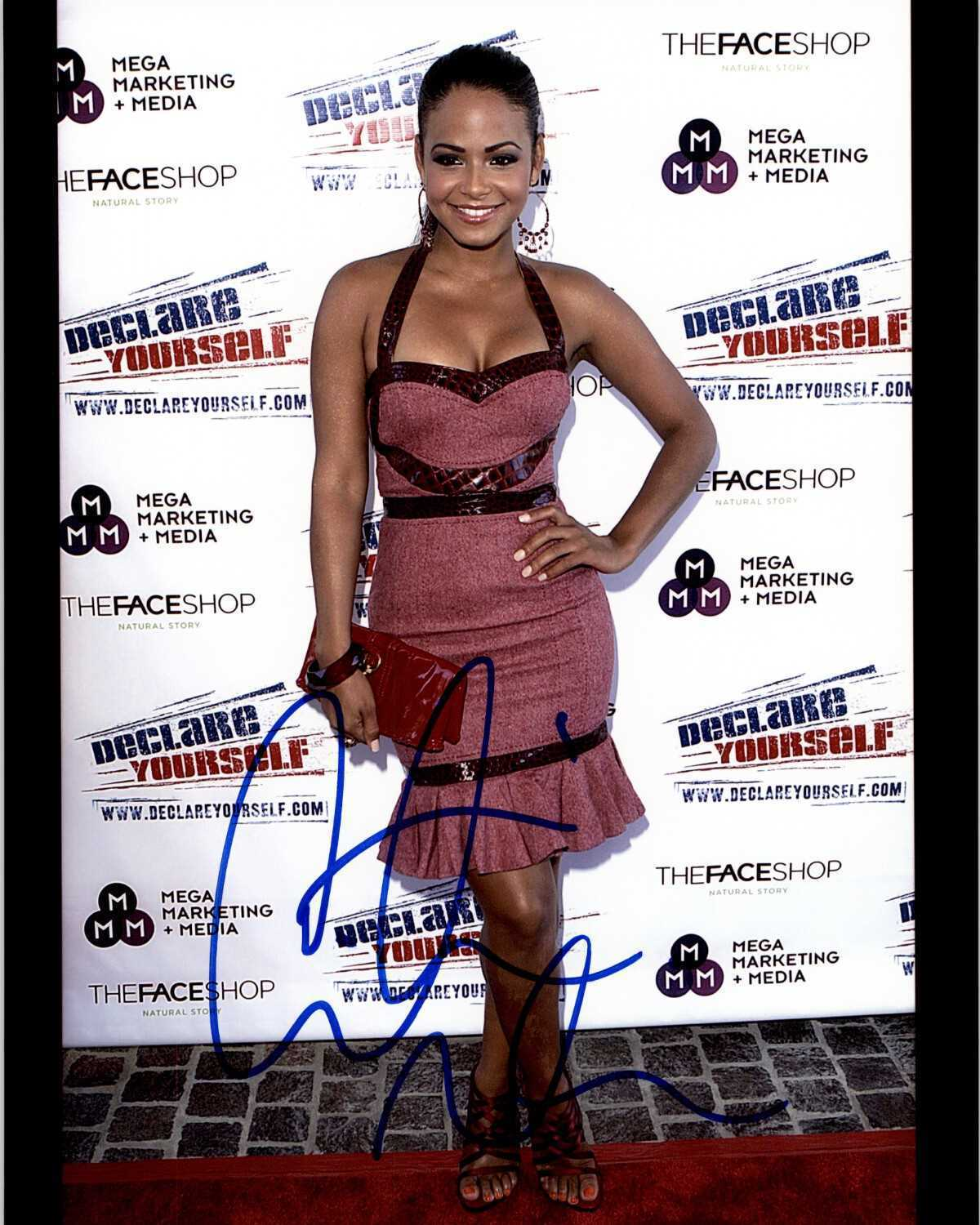 Primary image for Christina Milian Signed Autographed Glossy 8x10 Photo