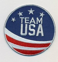 """Team USA Embroidered Iron-On Patch Size 2 3/4"""". USA Olympics - $7.87"""