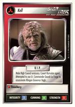 Star Trek CCG - Kell - $0.69