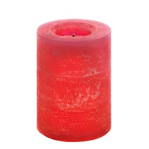 "Red 4"" High Pillar LED Flameless Candle with Red Hot Cinnamon Candy Frag... - €9,12 EUR"