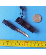 1  Mini Knife Filipino bolo  pendant necklace miniature blade tribal New - $13.61