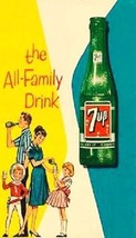 "7 UP ""The All Family Drink"" Magnet - $6.99"