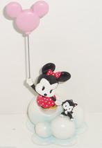 Disney Minnie Mouse Figaro Figurine Mickey Pink... - $34.95