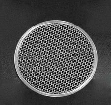 "9"" Thick Aluminum Pizza Pan Mesh Network Disk For Crispy And Evenly Baked Crust  - $9.49"