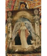 """Guardian Angel Woven Tapestry Wall Hanging by Artist LENA LIU 36"""" x 26"""" ... - $19.79"""