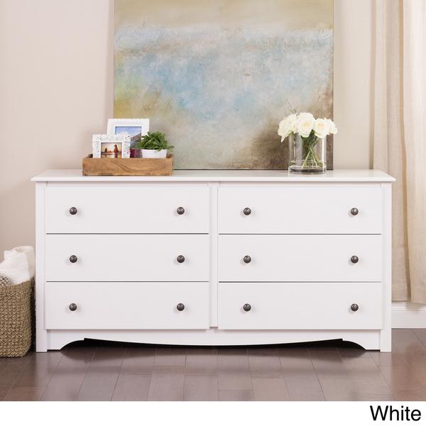 6-Drawer Dresser Closet Organization Cabinet Organizer Chest Drawer Tv Armoire