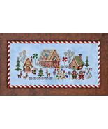Gingerbread Grove cross stitch chart Glendon Pl... - $14.40