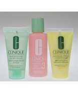 Clinique 3-Step System for Oily Skin (Skin Type III)  - Travel Size - $12.50