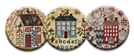 Home Sweet Home Magnet Collection (3 pcs) interchangeable jewlery Quilt ... - $10.00