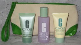 Clinique 3-Step System for Normal/Combination Skin (Type II) w/Travel Ma... - $14.95