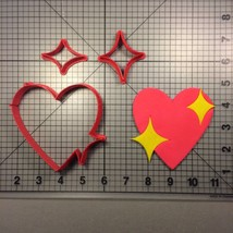 Heart Emoji 100 Cookie Cutter Set - $6.00+