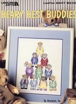 Beary Best Buddies Cross Stitch Pattern LA2247 - 30 Days to Shop & Pay! - $1.77