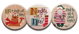 Season's Greetings Magnet Collection (3 pcs) interchangeable jewlery Qui... - $10.00