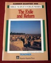 Bible Daniel Exile Return Judah Church Christian Lesson Group Jr High Te... - $9.90