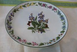 """Royal Worcester """"Worcester Herbs"""" 13"""" Oval Platter Green Trim Sage Pattern  - $59.98"""