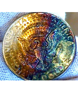 1964-P **TONED** Kennedy {{MINI-HOARD}} From Chicago Fed Bank Roll, TARG... - $19.54 CAD