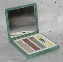 Clinique Pair of Shades/High Impact Trio Ivory Bisque Bronze Satin & Lemongrass  - $14.98