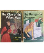 NANCY DREW PAIR OF VINTAGE COLLECTIBLE BOOKS, #3 & #30, BY CAROLYN KEENE - $5.89