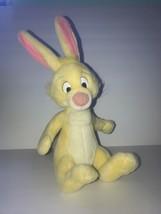 "Vintage Disney Rabbit Winnie The Pooh Plush Yellow 15"" Stuffed Animal - $26.06"