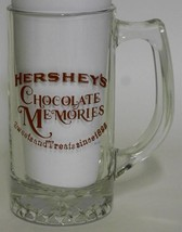 Hershey's Chocolate Memories ~ Glass Stein Cup Mug ~ Candy Advertising - $17.95
