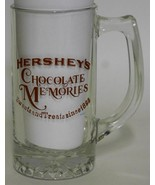 Hershey's Chocolate Memories ~ Glass Stein Cup Mug ~ Candy Advertising - $17.95