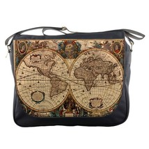 Messenger Bag Map Design Animation Puzzle Ravensburger Mapamundi Antiguo De Piez - $30.00