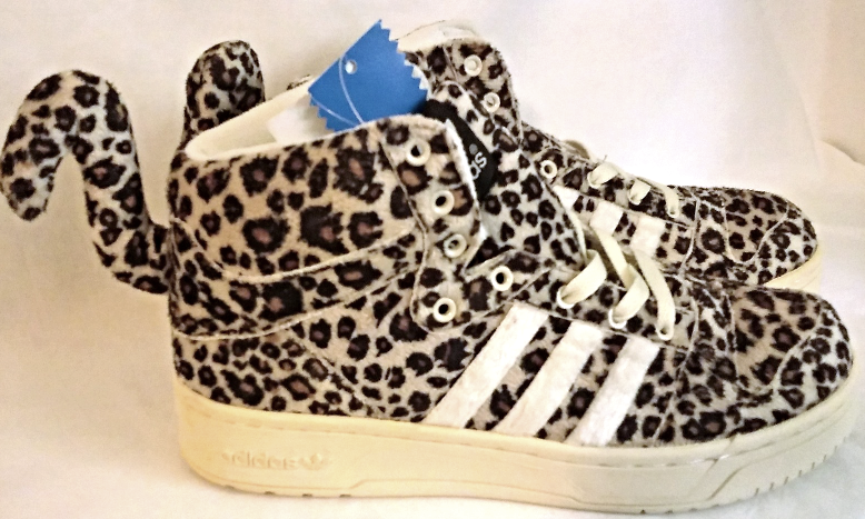 Adidas Jeremy Scott Leopard Tail Shoes