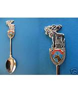 SAINTE ANNE DES MONTS Quebec Souvenir Collector Spoon Collectible MOOSE - $5.95