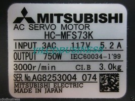 new HC-MFS73K Mitsubishi servo motor 90 days warranty - $472.15
