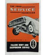 VGUC 1960 Ford Service Technician Falcon Body and Suspension Service No.... - $33.25