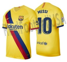 NIKE LIONEL MESSI FC BARCELONA AWAY JERSEY 2019/20 - $135.00